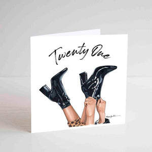 Card - Twenty One