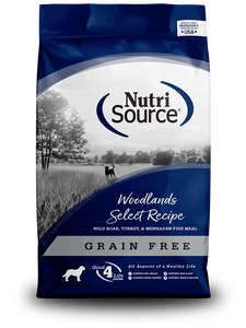 NutriSource Woodlands Select Recipe