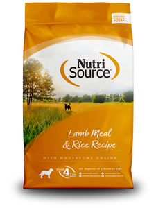 NutriSource Lamb Meal & Rice Recipe