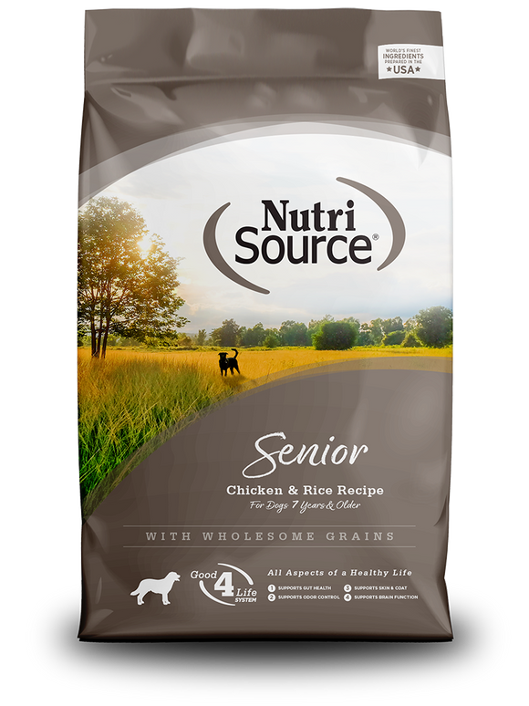NutriSource Senior Chicken & Rice Recipe