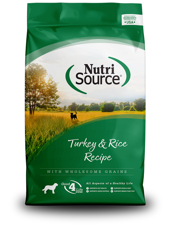 NutriSource Turkey & Rice Recipe