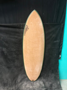 "5'8"" Carbon and Cork Double Wing Round Tail (DWRT)"