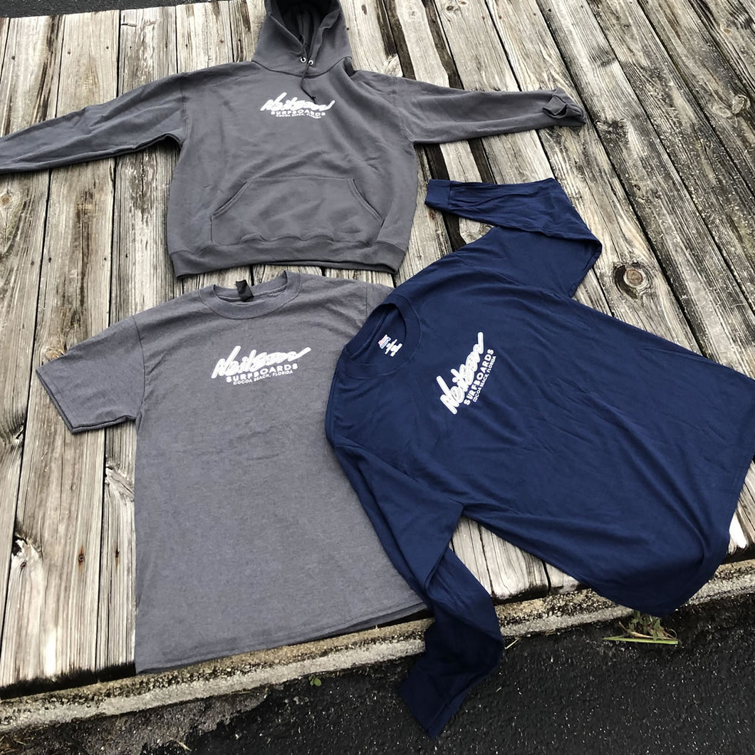 Neilson Logo - Long Sleeve - Dark Blue