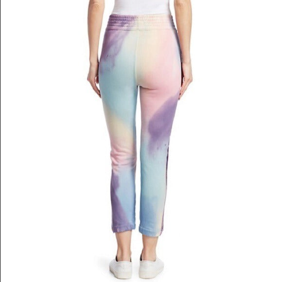MOTHER The Springy Lounger Tie Dye Ankle Pants Jogger S