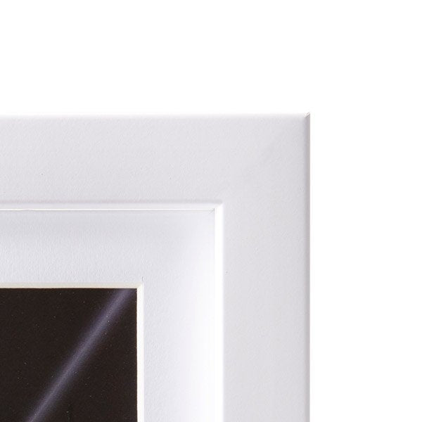 (PRE-ORDER) White Solid Wood Frame + Photographic Print