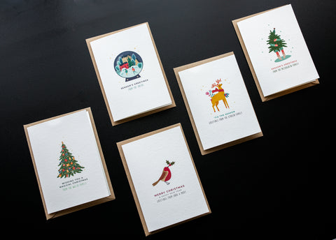 Mimimalist Christmas Cards