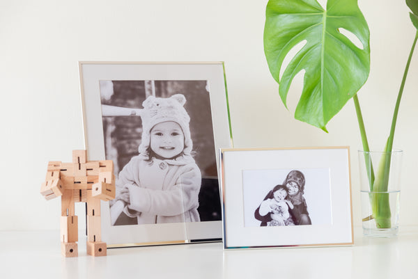 (PRE-ORDER) Modern Silver Plated Frame + Photographic Print
