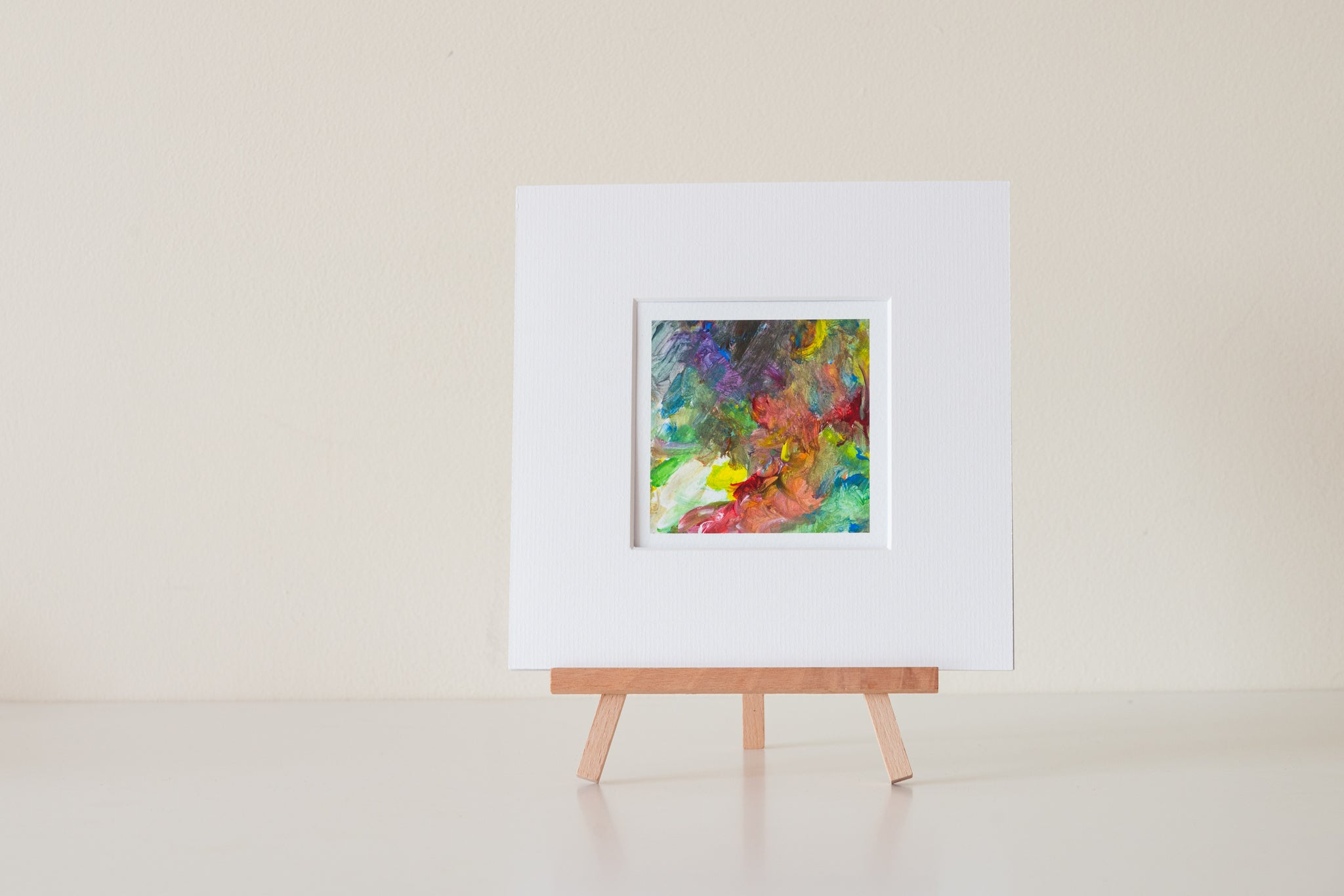 "4x4"" Mounted Fine Art Print"