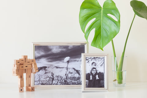 (PRE-ORDER) Decorative Silver Plated Frame + Photographic Print