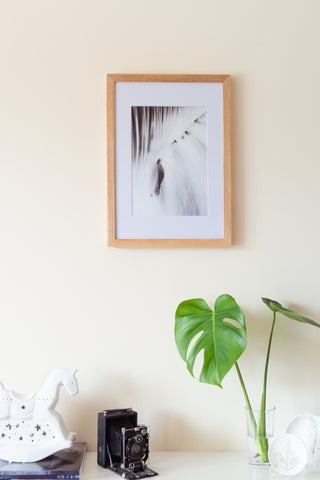 (PRE-ORDER) Large Oak Solid Wood Frame + Photographic Print