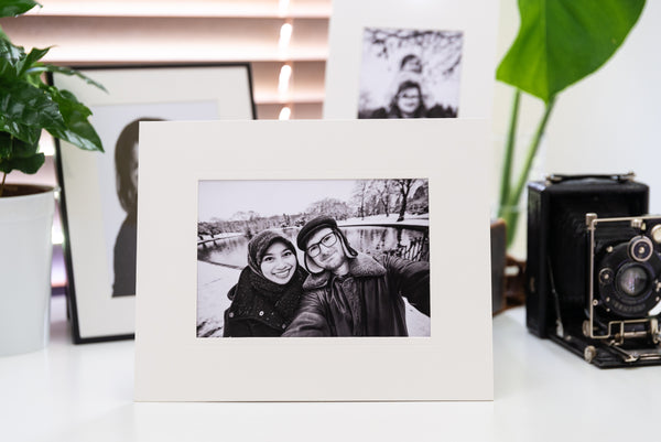 "7x5"" Photographic Print in Strut Mount"
