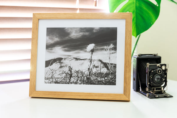 (PRE-ORDER) Oak Solid Wood Frame + Photographic Print