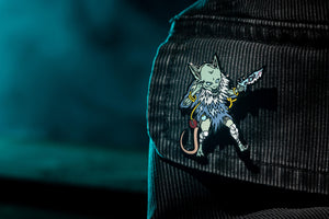 Mindthief Collectors Pin