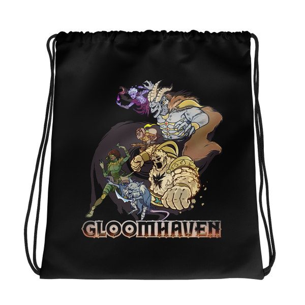 Gloomhaven Drawstring Tote