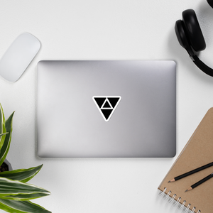 Triangles Vinyl Sticker