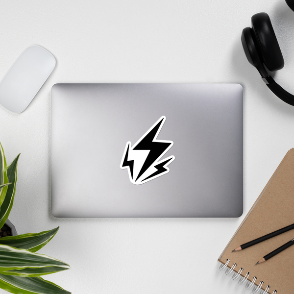 Lightning Vinyl Sticker