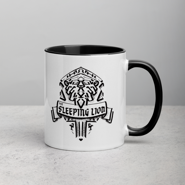 Sleeping Lion Mug