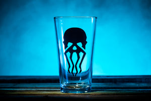 """Tentacle Face"" Pint Glass"