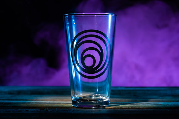 """Circles"" Pint Glass"