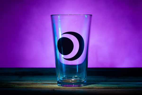 """Eclipse"" Pint Glass"