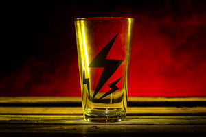 """Lightning"" Pint Glass"
