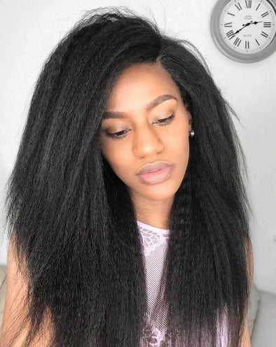 Straight Wigs Lace Frontal Hair 12 Inch Bob Lace Wig For Black Women Dry And Straighten Hair Non Scarring Free Shipping