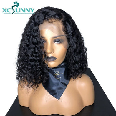 Lace Front Black Wig black curly hair wig natural hair lace wigs