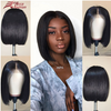 Lace Front Black Wig black and green lace front wig bang bob wig Lace hair