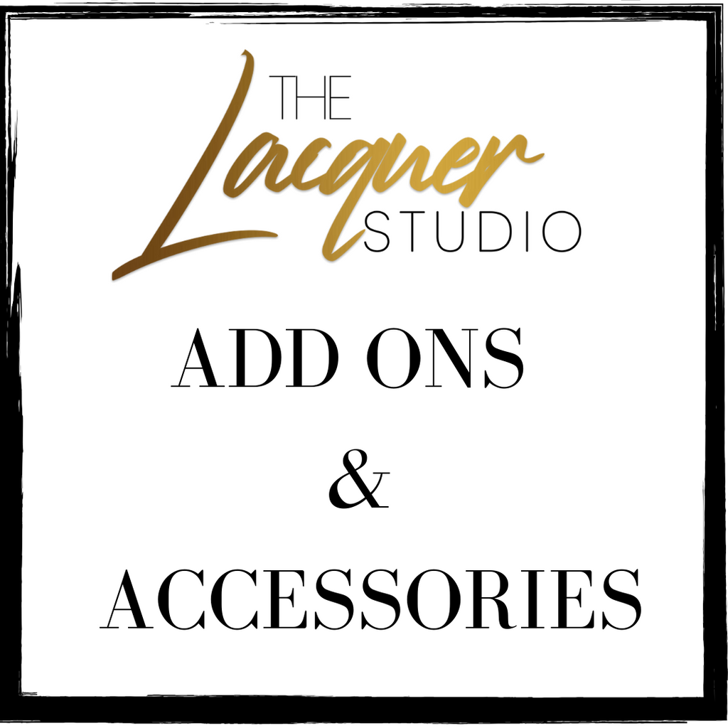 ADD ONS & ACCESSORIES