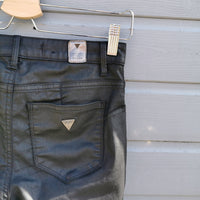 guess black skinnies