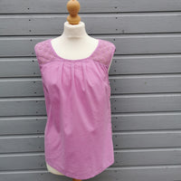 boden lilac shell top