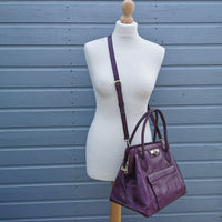 dkny berry leather bag