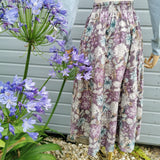 vintage laura ashley flat front skirt