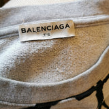 balenciaga sweat shirt