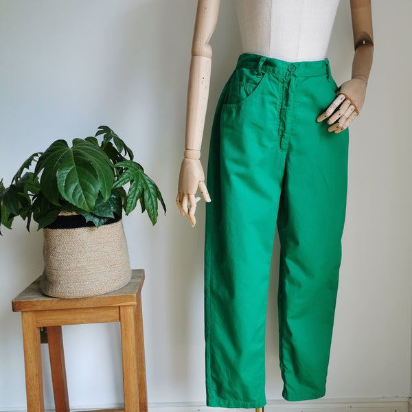 vintage italian cotton trousers