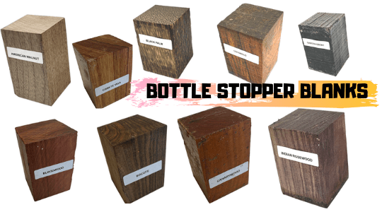 Check Out The Popular Woods Used As Bottle Stopper Blanks