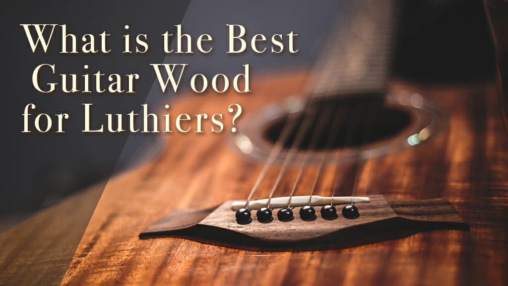 What is the Best Guitar Wood for Luthiers?
