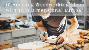 10 Amazing Woodworking Ideas with Thin Dimensional Lumber
