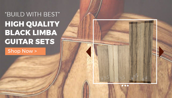 Black Limba Guitar Sets