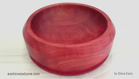 Pink Ivory Bowls Exotic Wood Zone