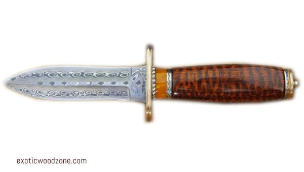 Snakewood Knifemaking