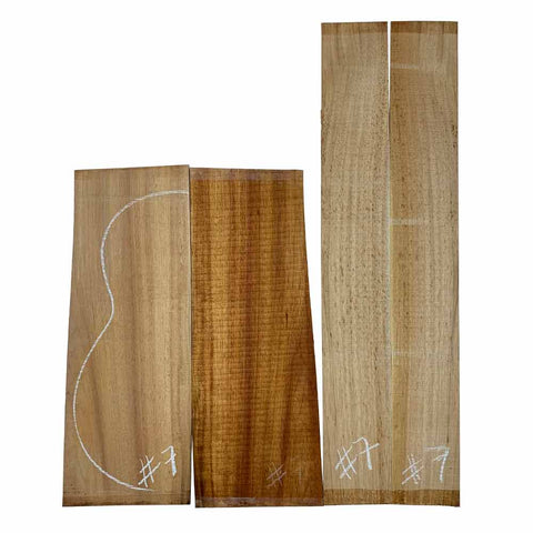 Acacia Classical Guitar Back & Side Set #07 - Exotic Wood Zone