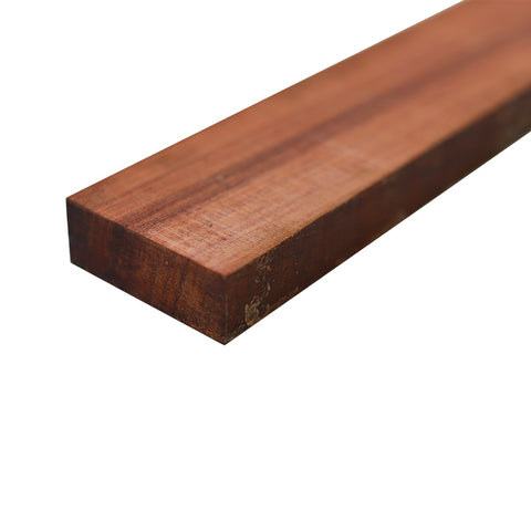 "Bloodwood Lumber Board - 3/4"" x 2"" (4 Pieces) - Exotic Wood Zone"