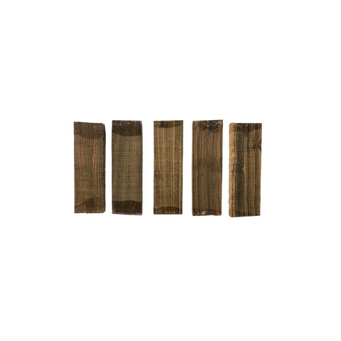 Bocote Guitar Bridge Blanks - Exotic Wood Zone