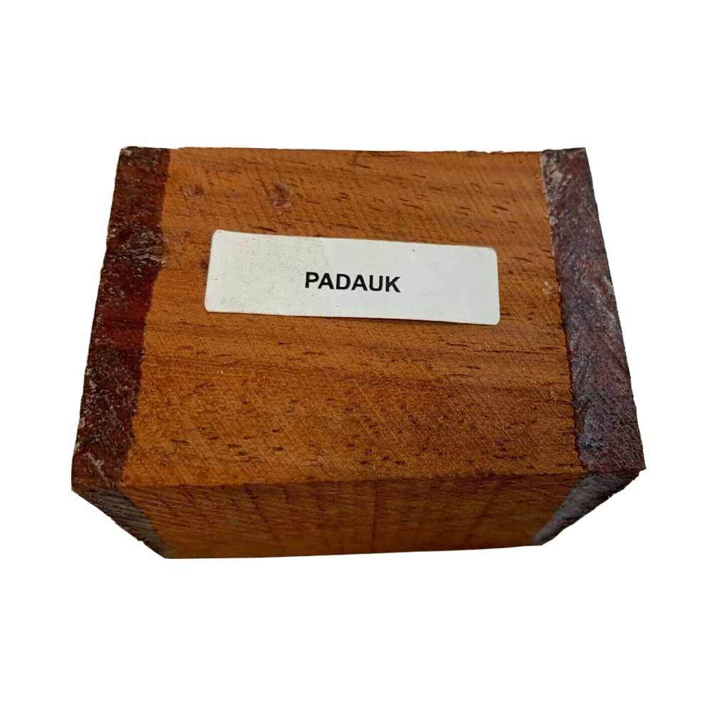 Padauk Bottle Stopper Blanks - Exotic Wood Zone