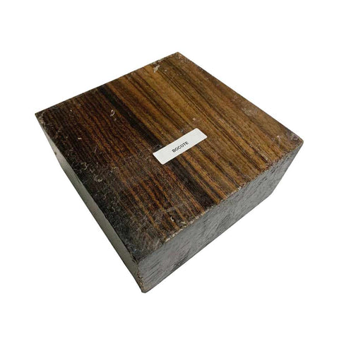 Bocote Bowl Blanks 8 x 8 x 3 Inches With Free Shipping