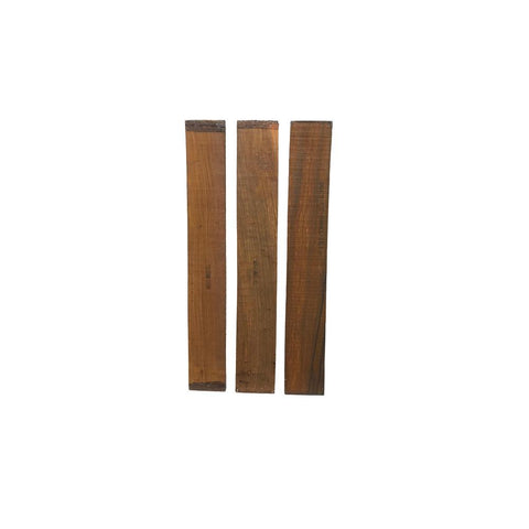 Cocobolo Guitar Fingerboard Blank - Exotic Wood Zone