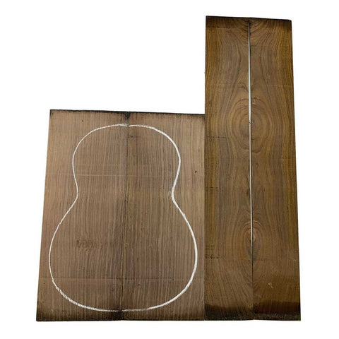 Figured Indian Rosewood Classical/OM Guitar Sets With Free Shipping - Exotic Wood Zone