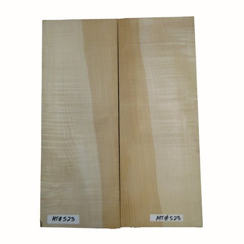 Flame Maple Carved-Solid Body Top for Electric Guitar #MT523 Free Shipping - Exotic Wood Zone