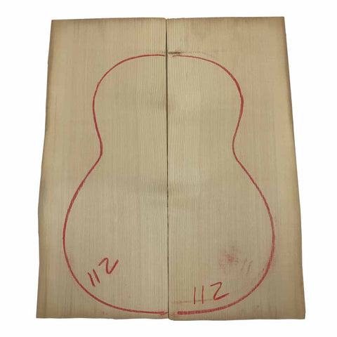 European Spruce Classical Guitar Wood Top #112 With Free Shipping - Exotic Wood Zone